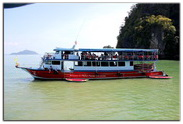 Boat to James Bond Island